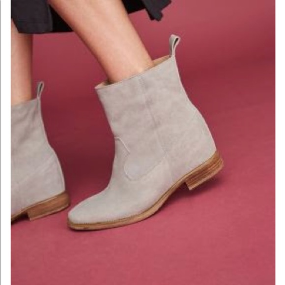 d4a6ee67961 Anthropologie Shoes - Anthropologie Hidden Wedge Bootie